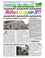 Bulletin Municipal de janvier-février 2011