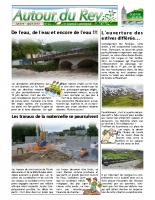 Bulletin Municipal de juillet-août 2013
