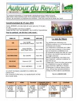 Bulletin Municipal de mai-juin 2014
