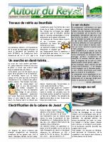 Bulletin Municipal de septembre-octobre 2011