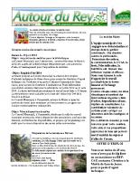 Bulletin municipal de juillet- août 2014