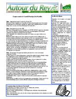 Bulletin municipal de septembre-octobre 2014