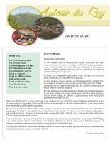 Bulletin Municipal de janvier 2020
