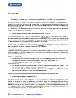 Covid-19 mesures d'accompagnement et de soutien CCI PAU BEARN