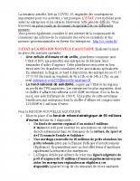 La lettre du service Economie de la Vallée d'Ossau envoyée aux entreprises