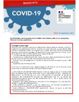 Bulletin COVID-19 n°13