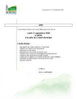 avis conseil municipal 21-9-2020