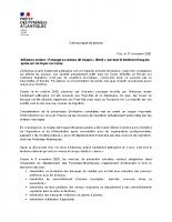 Influenza aviaire – 1er cas en Corse